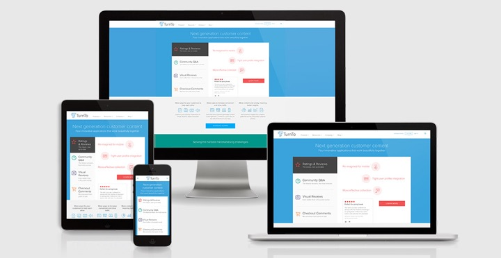 Responsive Web Design for TurnTo