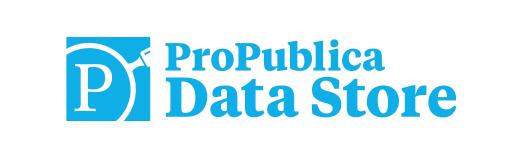 ProPublica Data Store